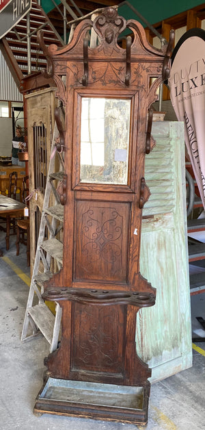 Early 1900's French Entry Coat Stand