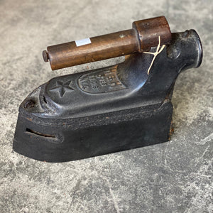 Antique Coal Iron
