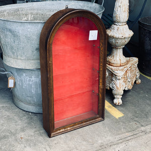 French Antique Round shaped cabinet