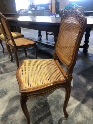 Cane chair from Haute Savoie