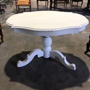 White Side Table from the Haute Savoie Region of France