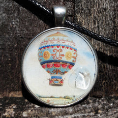 """Rise Above It"" Amulet Pendant by Doe Zantamata"
