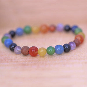 Chakra Positivity Bracelets 7 Natural Gemstones