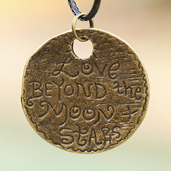 Love Beyond the Moon and Stars Pendant and Necklace