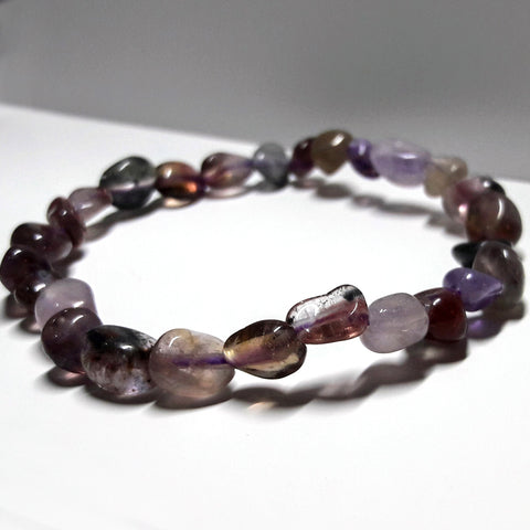 Auralite Natural Stones Intuitive Soul Connection Bracelet