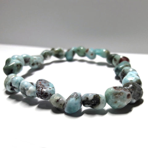 Larimar Natural Stones Truthful Communication Bracelet