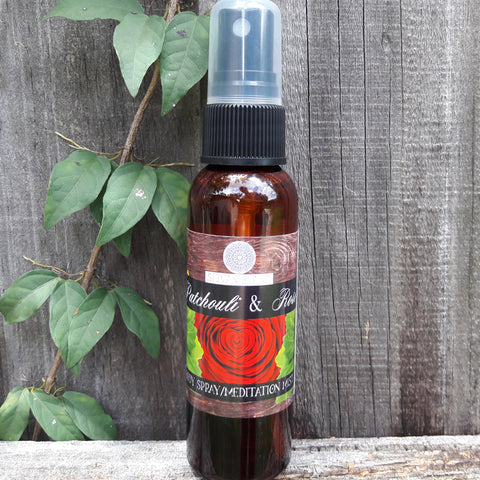 Patchouli and Rose Pure Meditation Mist