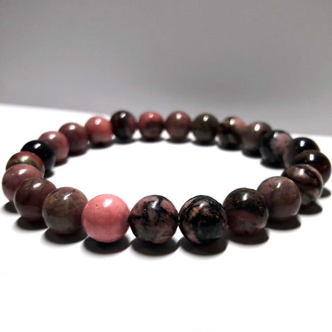 Rhodonite Natural Stones Forgiveness Bracelet