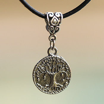Pewter and charm pendants shiva nirvana jewelry and gifts tree of life bodhi tree pendant and necklace aloadofball Choice Image