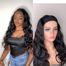 Load and play video in Gallery viewer, Bodywave Head Band Wig