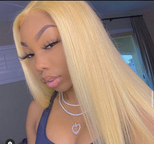 613 Blonde 3 BUNDLE WITH FRONTAL