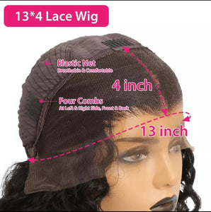 Mink Straight  Lace Frontal Wig