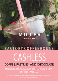 Factory Coffeehouse in Chambersburg has gone Cashless!