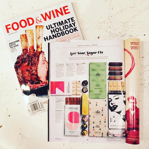 Food and Wine Winter Gift Guide 2016 How I Holiday Chocolate Nathan Miller