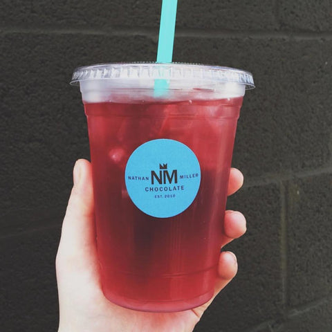 Hibiscus lemongrass cold brew tea - available year round.