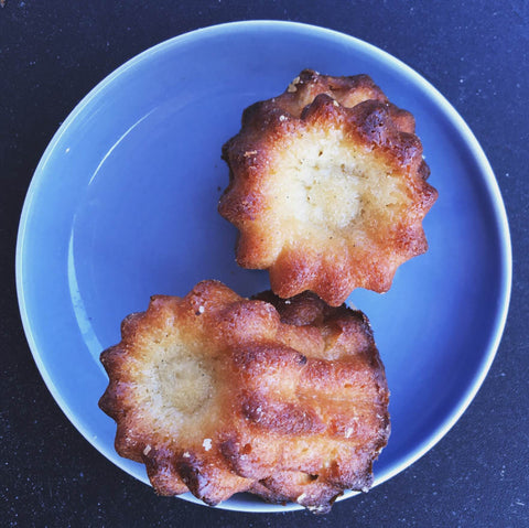 Canele Vanilla Baked Custard Bites Made in House Each Morning