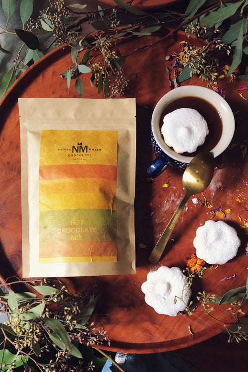 Nathan Miller Chocolate Barista Chocolate for Hot Chocolates and Mochas available Wholesale in 10 oz bags
