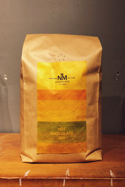 Nathan Miller Chocolate Barista Chocolate for Hot Chocolates and Mochas available Wholesale in 10 lb bags