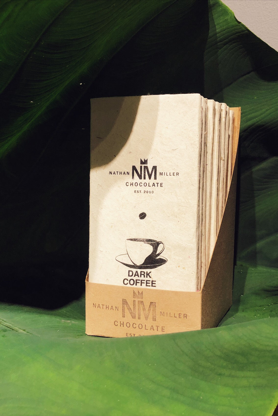 Dark Coffee Chocolate By Nathan Miller Chocolate 12 bar case