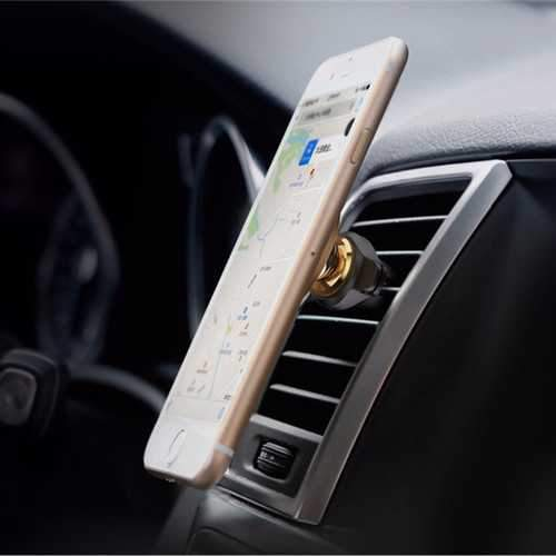 Baseus Cable Clip Magnetic Rotation Car Air Vent Phone Holder Stand for Samsung S8 iPhone X Xiaomi