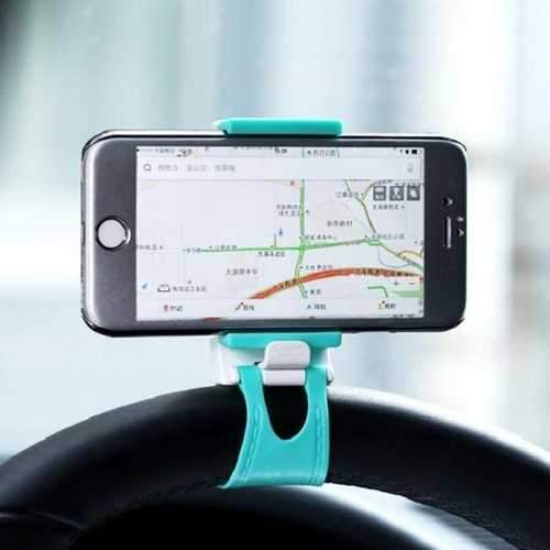 REMAX RM-C11 Steel Ring Wheel Clip Car Stand Holder Mount for Phone