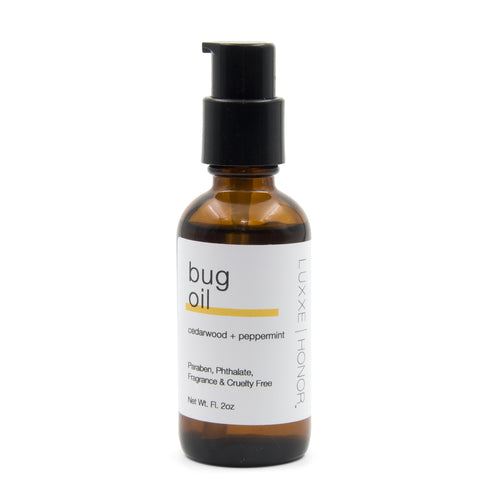 Organic Bug Oil Made Of Cedarwood and Peppermint Essential Oils