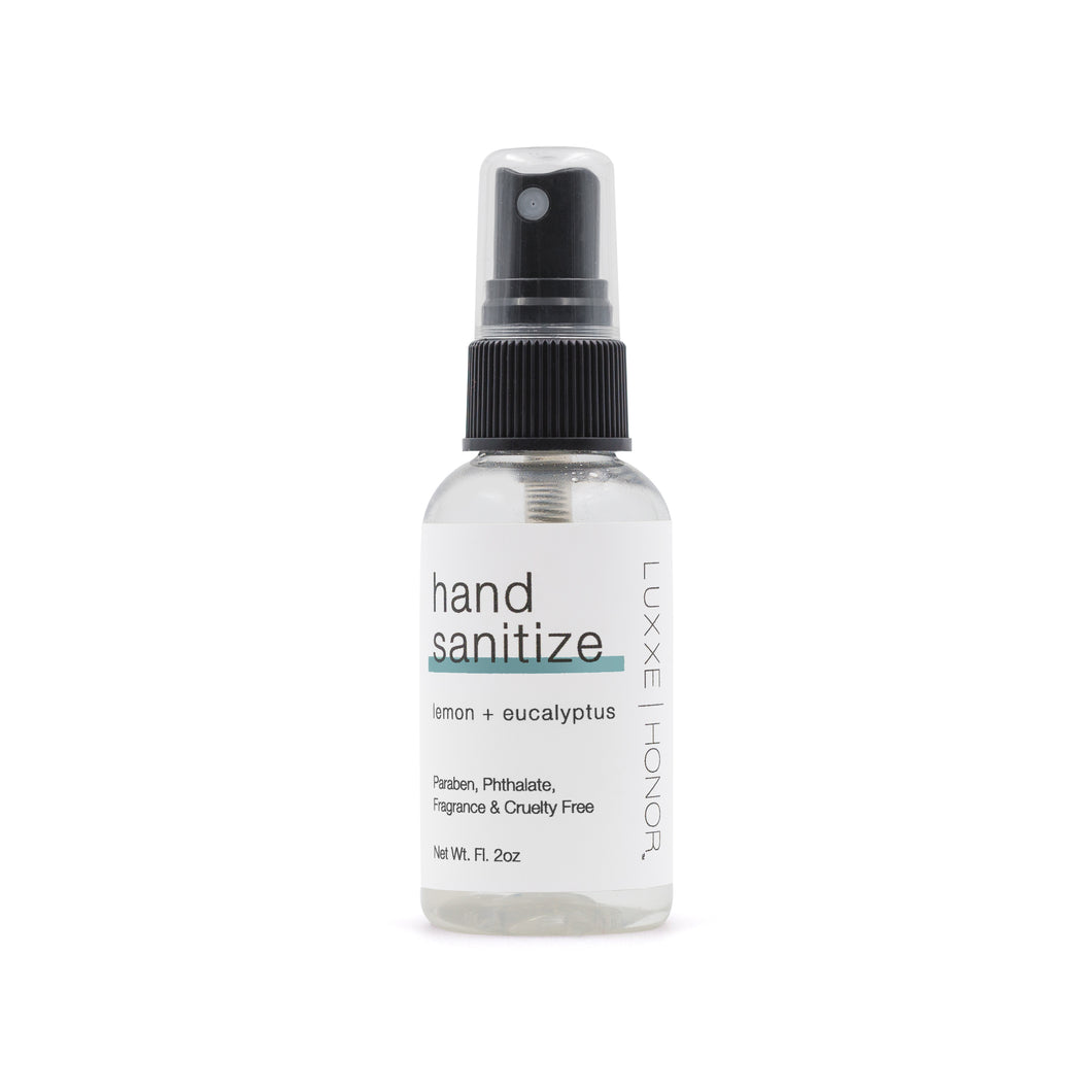 Hand Sanitizer Spray made of Lemon and Eucalyptus Essential Oils