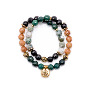 Bracelets with Healing Stones