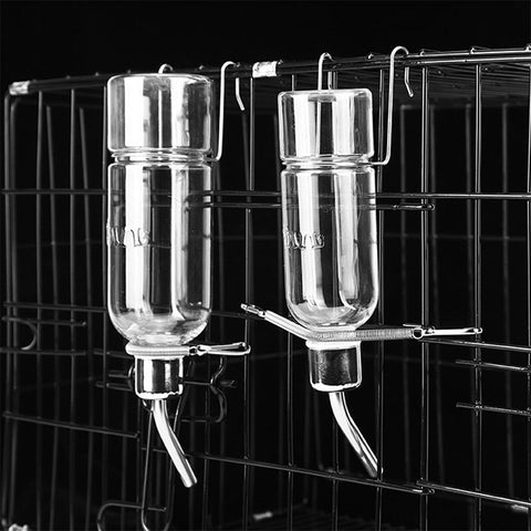 Stainless Steel Drinking Water Dispenser Pets Cat Feeding Hanging Automatic Drinker Syrian Rabbit Hamster Guinea Pig Bebederos