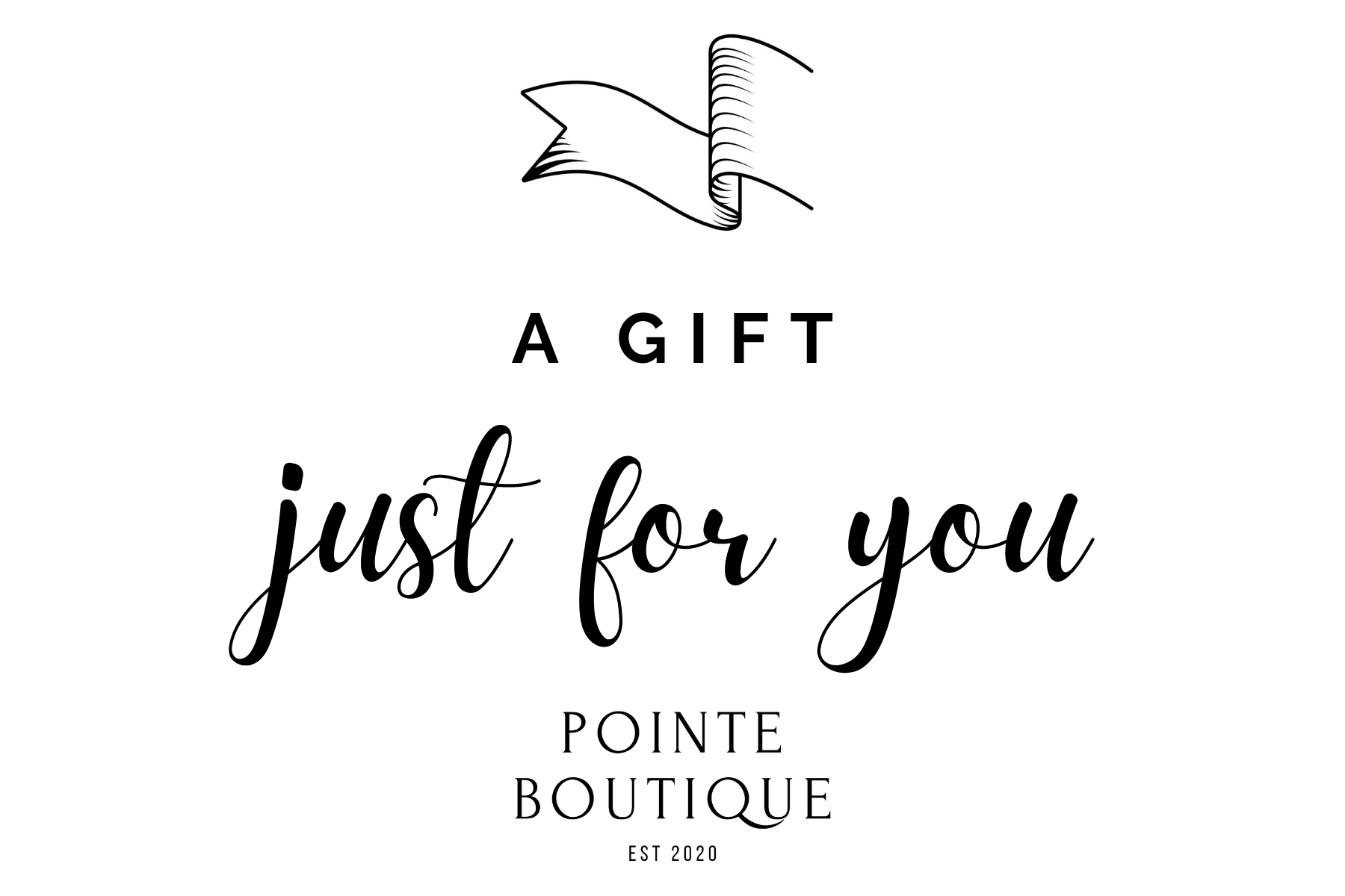 Pointe Boutique Online Gift Card Pointe Boutique Pointe Boutique