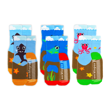 (TODDLER) Marine Mates 6-Pack