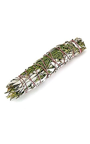 JUNIPER & WHITE SAGE SMUDGE STICK - LARGE