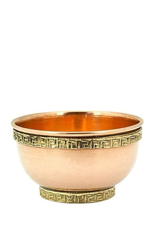 COPPER OFFERING BOWL