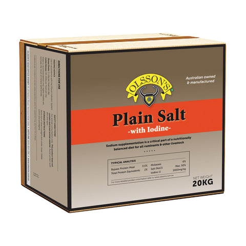 Olssons Plain Salt 20kg