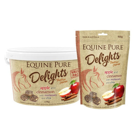 Equine Pure Delights Apple and Cinnamon 500g