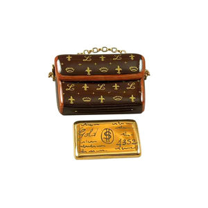 DESIGNER CLUTCH PURSE WITH CREDIT CARD