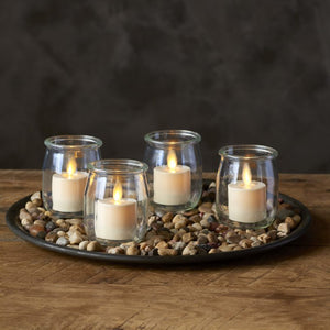 "LightLi Moving Flame 1.4"" X 2.0"" Tealight Flameless Candles  (4-Pack)"