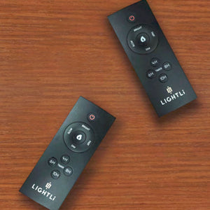 LightLi Remote Control, Multi-features, Pre-set Timer, Brightness, Flame Speed, Universal - Flicker and Glow