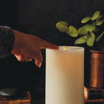 "LightLi Wick to Flame 9"" Pillar Flameless Candle"