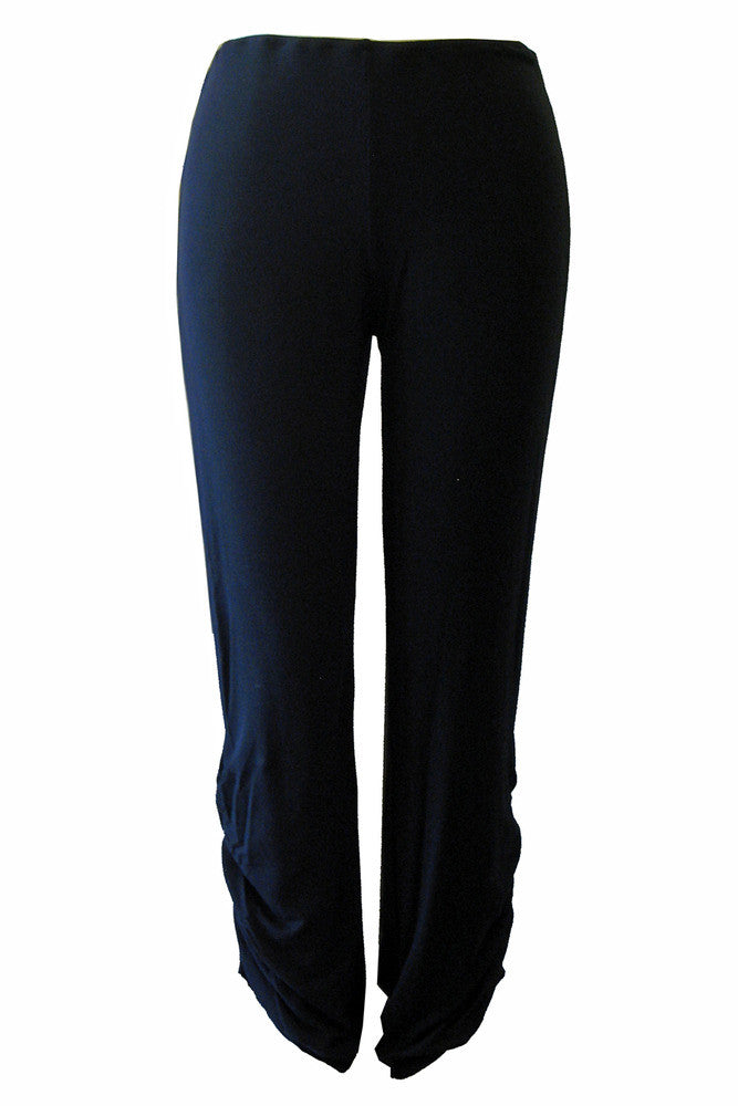 Caterpillar Pants in Black Bamboo