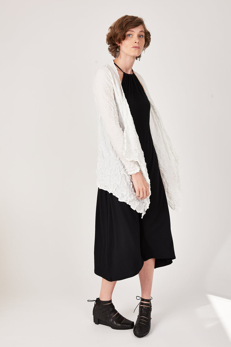Moth Ali Cardigan in Silky White