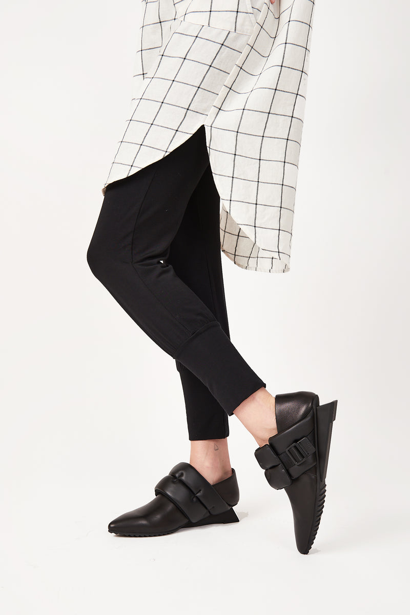 Black Bamboo Jersey Sweatpants