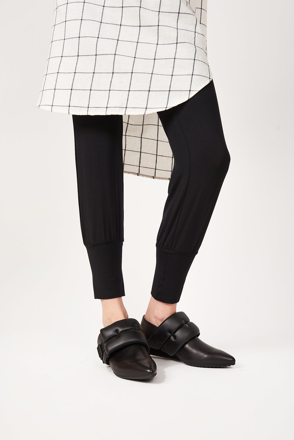 Paolo Pants in Black Bamboo Jersey