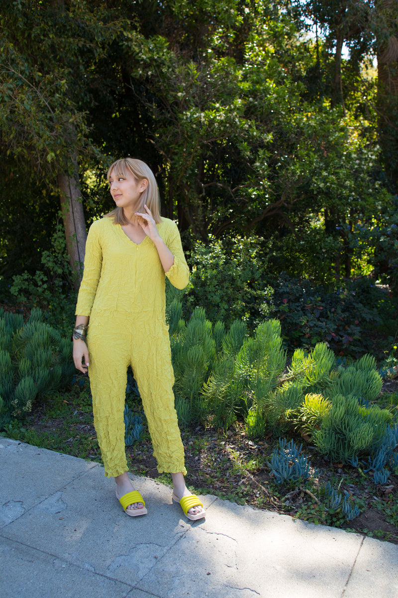 Moth Boiler Suit in Silky Limoncello