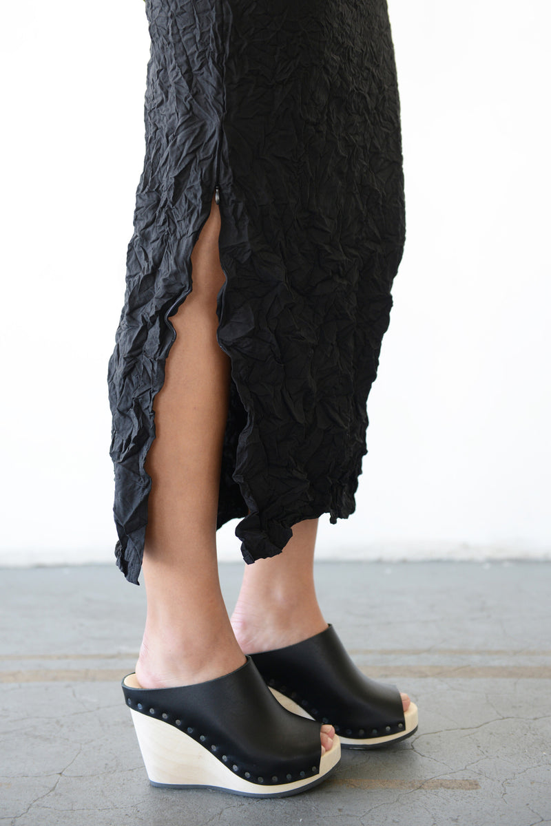 Moth Convertible Column Skirt in Black