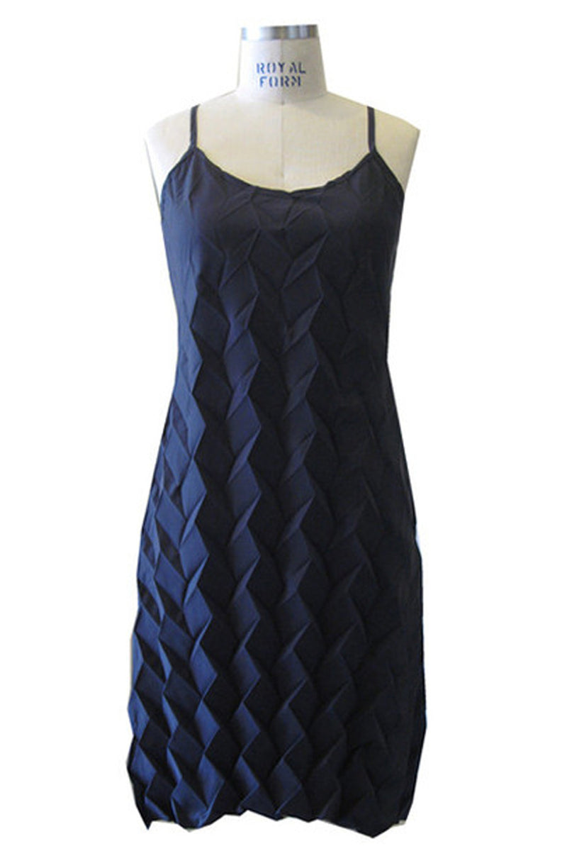 SALE Diamond Tank Dress in Midnight (Size L)