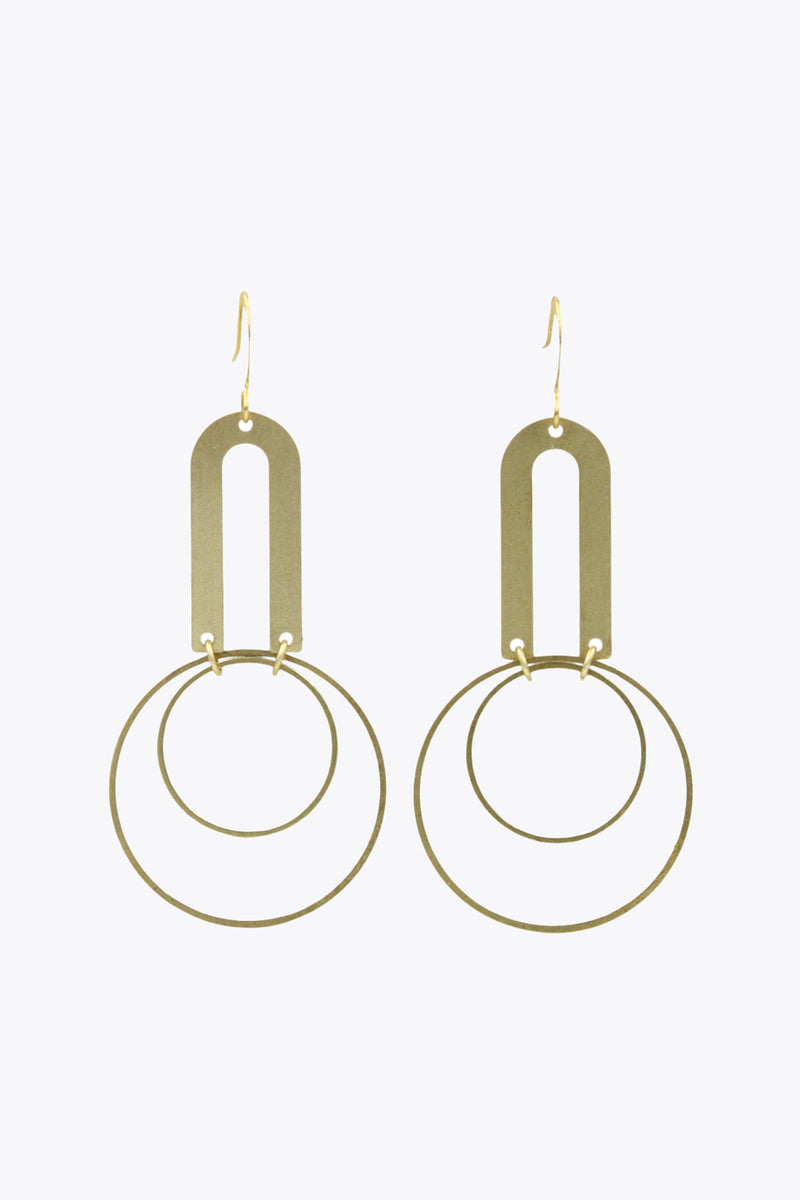 Dreamer Geometric Dangle Earrings