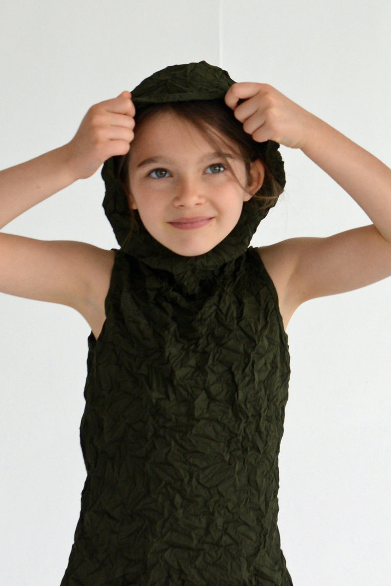 SALE Moth Hoodie Dress for Girls