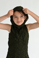 Moth Hoodie Dress for Girls