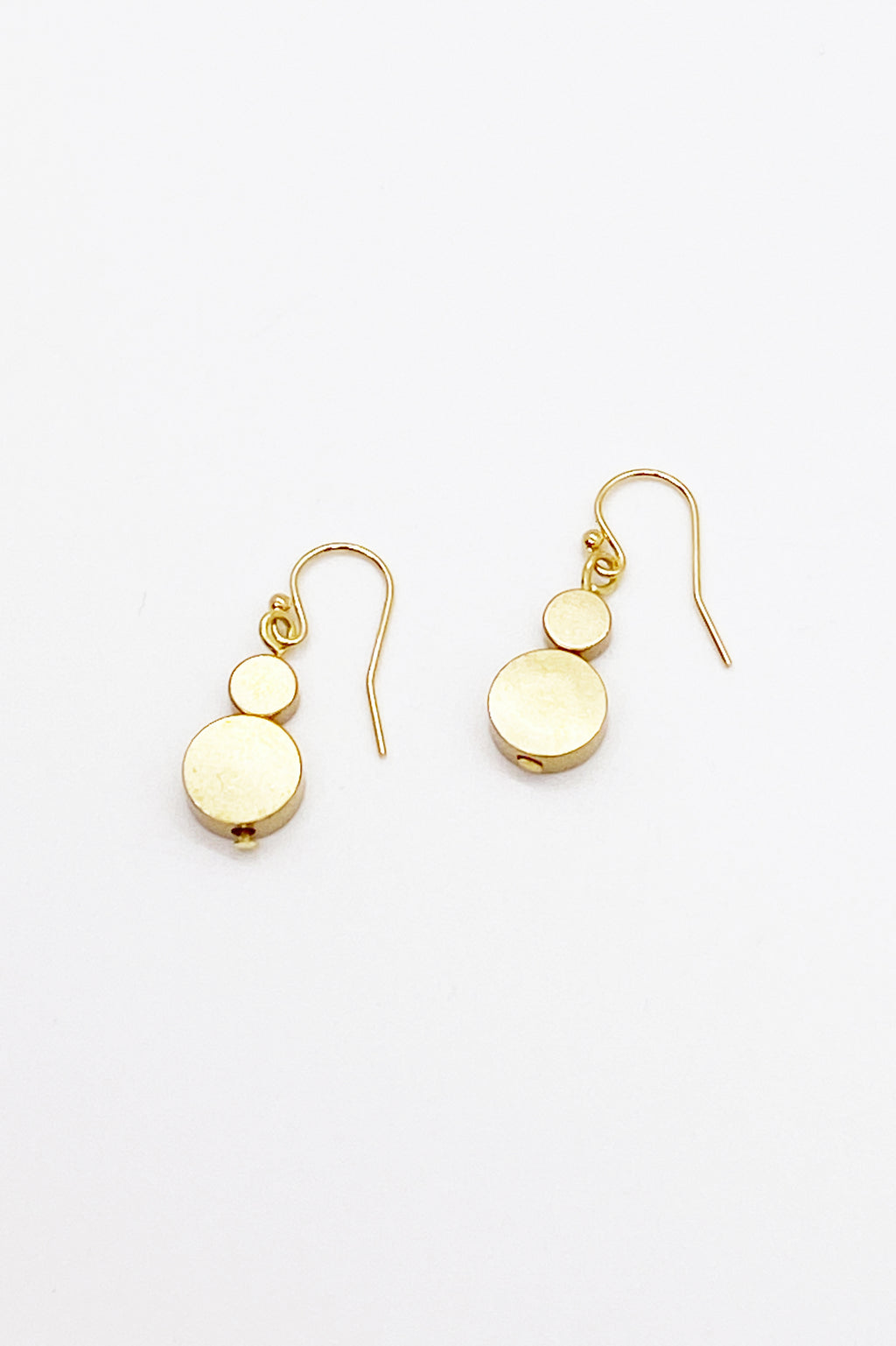 Small Disc Earrings